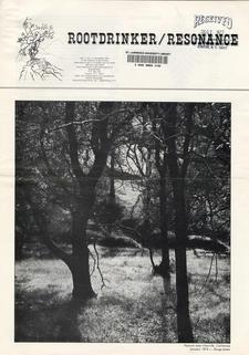 Rootdrinker:  Resonance; Volume 1, Number 4, November 1976