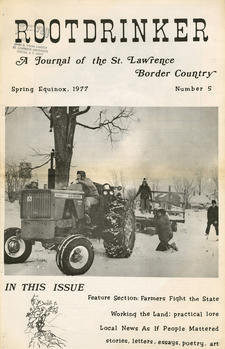 Rootdrinker: A Journal of the St. Lawrence Border Country; Volume 2, Number 5, Spring Equinox 1977