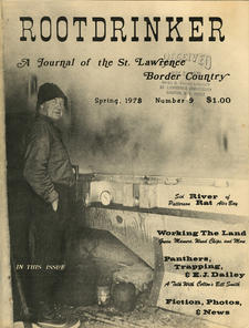 Rootdrinker: A Journal of the St. Lawrence Border Country; Volume 3, Number 9, Spring 1978