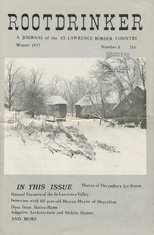 Rootdrinker: A Journal of the St. Lawrence Border Country; Volume 2, Number 8, Winter 1977