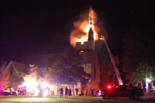 Gunnison Steeple Fire, Oct. 6, 2013