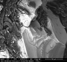 Calcite and Tourmaline Rock