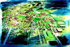 1970 Campus Map