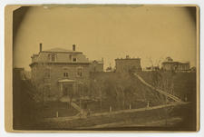 Early 1880s panorama of campus