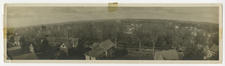 Panorama of Canton ca. 1917, including campus