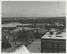 Science buildings from Gunnison bell tower