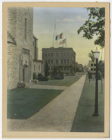 Main Campus Walk, late 1920's