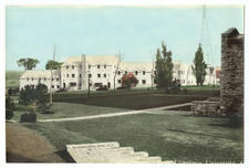 Early view of Dean Eaton Hall