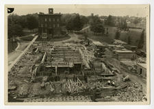 Gunnison Memorial Chapel construction