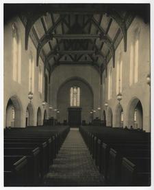 Gunnison Chapel interior