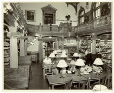 Interior of Herring-Cole, mid-50s