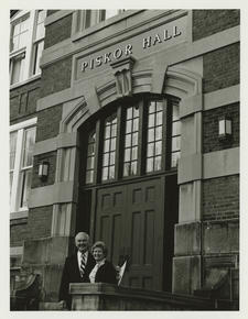 Cook Hall Renamed Piskor Hall