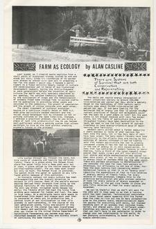 Farm as Ecology