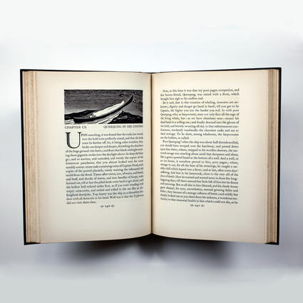 Moby Dick, or the Whale (Lakeside Press)