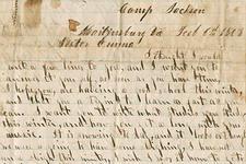 Sunderland Family Civil War Correspondence